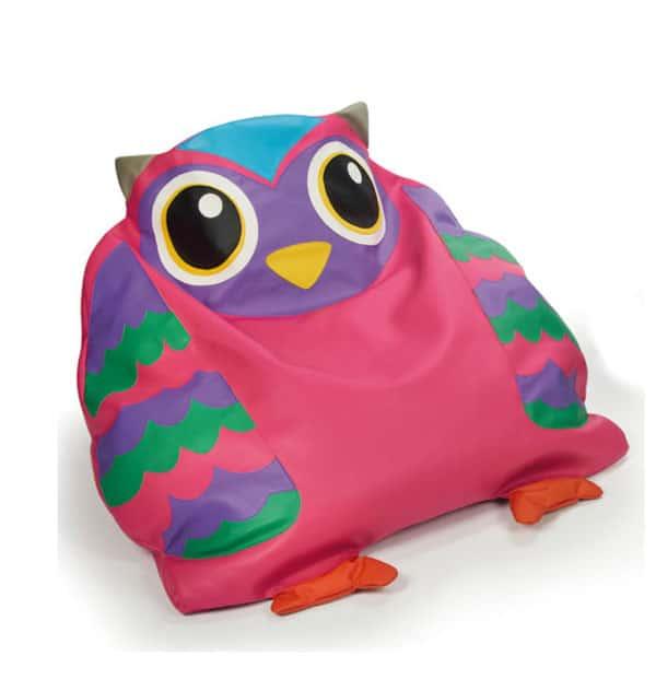 Puffs infantiles: Sofu00e1 Friends. Muu00f1ecos y sofu00e1s para niu00f1os.