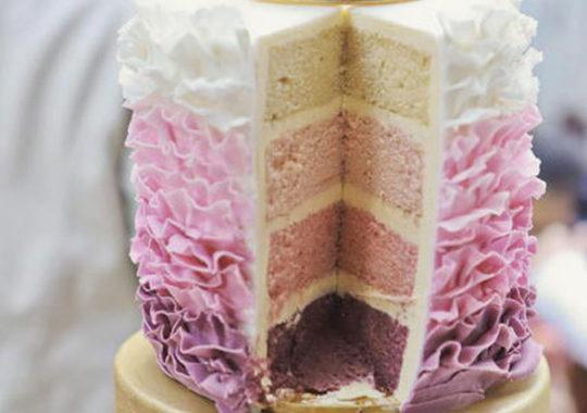 Una tarta para un cumpleaños infantil de princesas