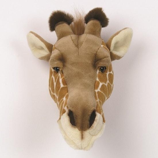 Cabeza peluche jirafa