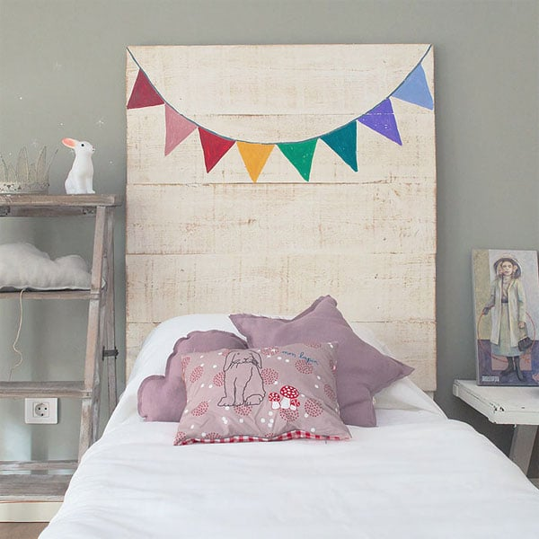 Decoraci n infantil cabeceros de cama originales - Cabeceros cama caseros ...