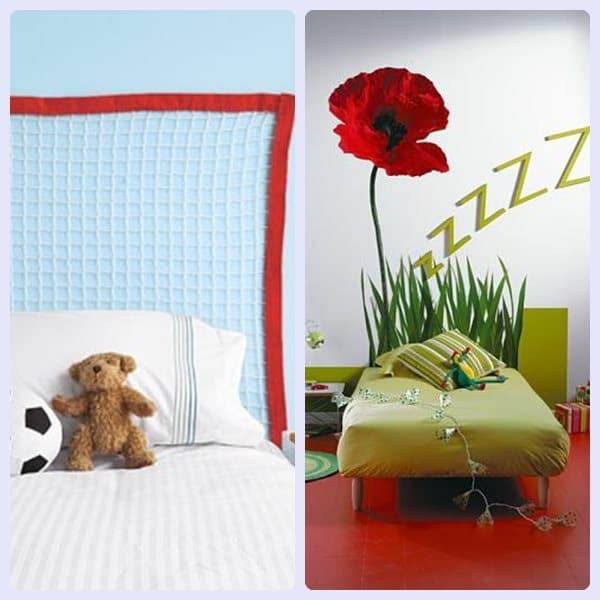 Unos cabeceros de cama muy originales