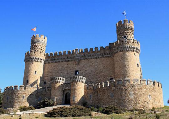 Castillo de Manzanares El Real, excursión con niños en Madrid 1