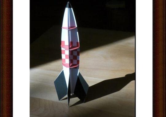 Un cohete para imprimir gratis ¡y armar!
