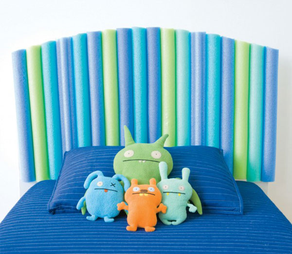 Decoraci n infantil cabeceros de cama originales - Cabeceros infantiles tapizados ...
