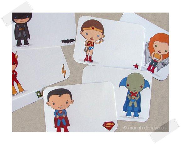Dibujos de superhéroes para imprimir y colorear