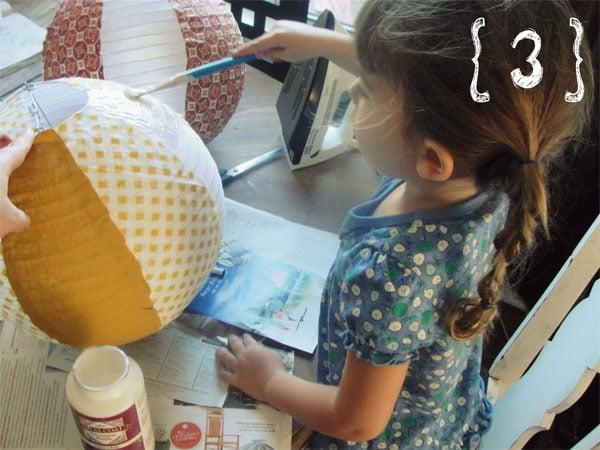 Decoración de la habitación infantil: ¡una lámpara muy original!