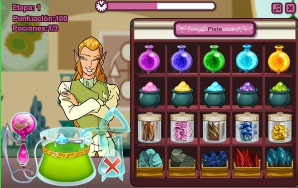 Juegos online de Winx Club
