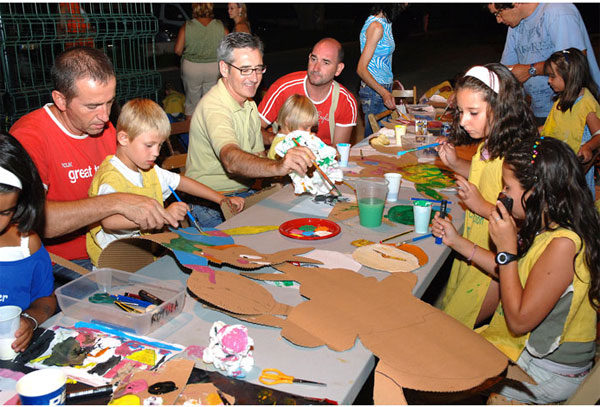 Talleres infantiles gratis 2013 en el Parque del Alamillo, Sevilla