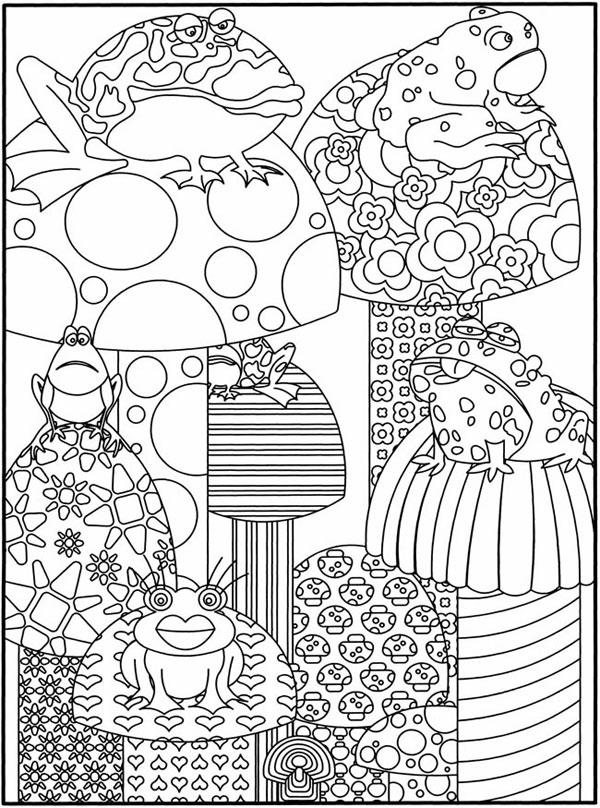 Dibujos para colorear de la primavera | Pequeocio.com