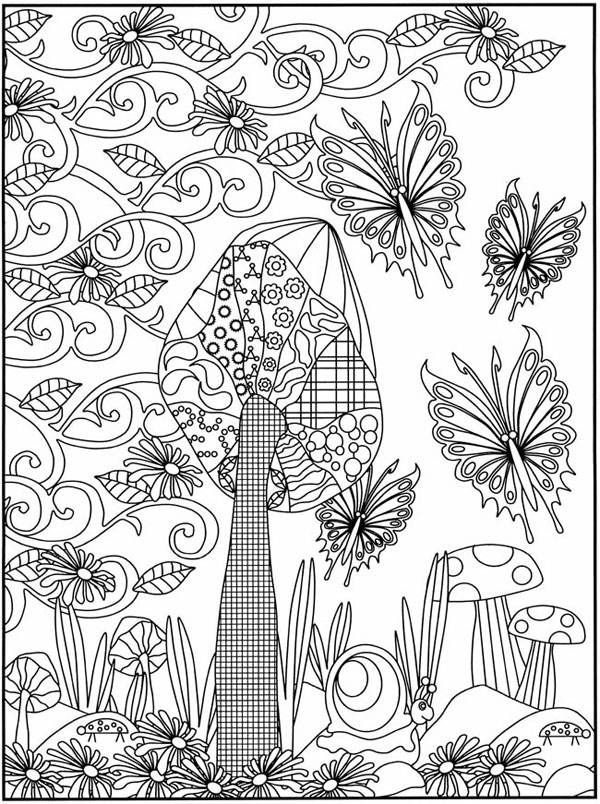 Dibujos para colorear de la primavera  Pequeocio