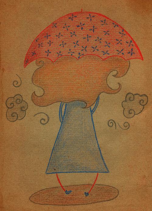 El paraguas rojo de Estíbaliz 5