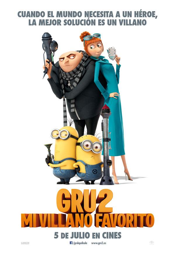 Gru 2 película infantil