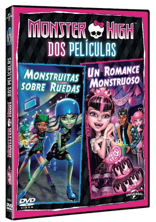 de la nueva película en dvd de las monster high scaris pues