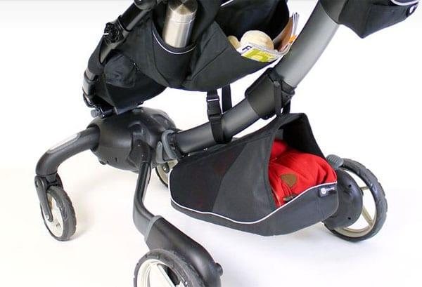 Origami, carrito de bebés con plegado automático