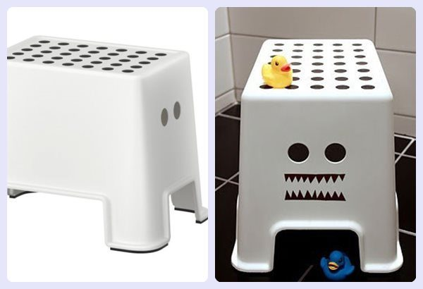 Ikea Hack: ¡un taburete muy divertido!