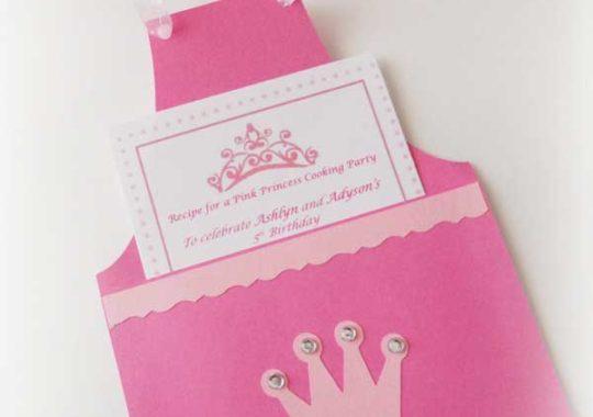 Invitaciones para una fiesta temática de princesas 2