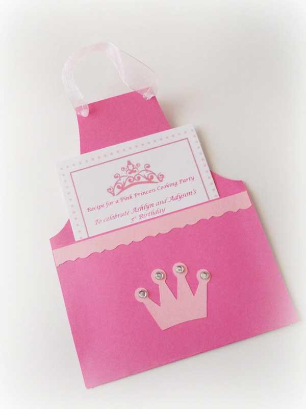 Invitaciones para una fiesta temática de princesas