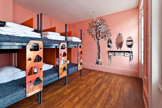 clink78-albergue-habitación