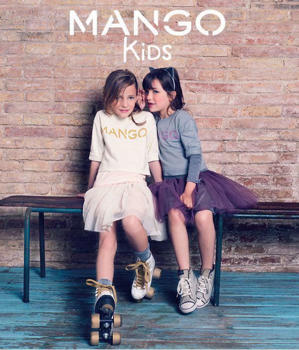 Mango Kids y la moda infantil 2013
