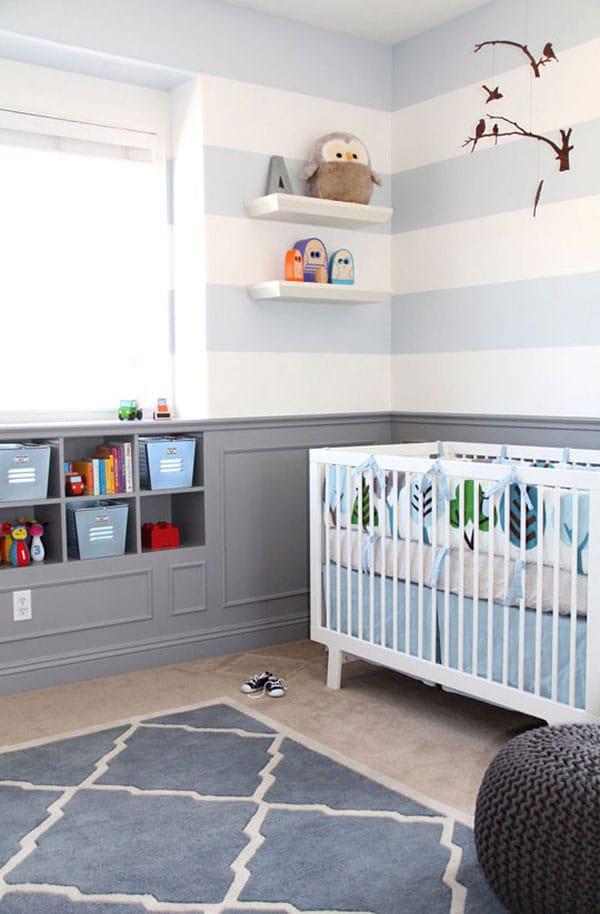 10 ideas para decorar la habitaci n del beb pequeocio - Decorar habitacion infantil nino ...