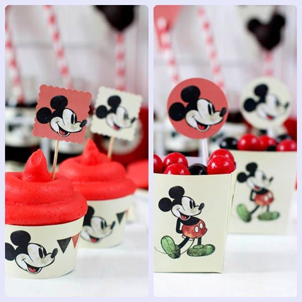 Cumpleaños de Mickey, ¡kit de fiesta imprimible gratuito! - Pequeocio