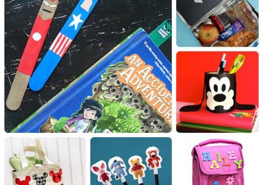 8 manualidades infantiles para la Vuelta al Cole