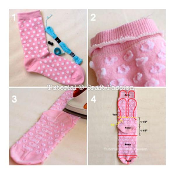 Como hacer calcetines para beb imagui - Como hacer calcetines de punto ...