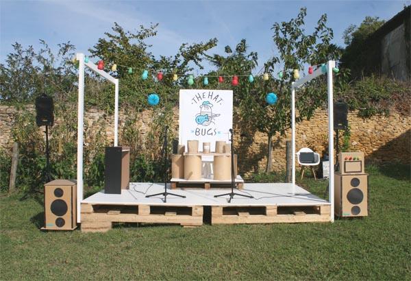 Fiesta infantil tem tica de rock cumplea os para ni os - Como preparar un cumpleanos infantil en casa ...
