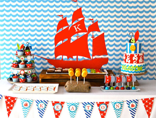 Fiesta infantil de jake y los piratas de nunca jam s for Yei y los piratas de nunca jamas