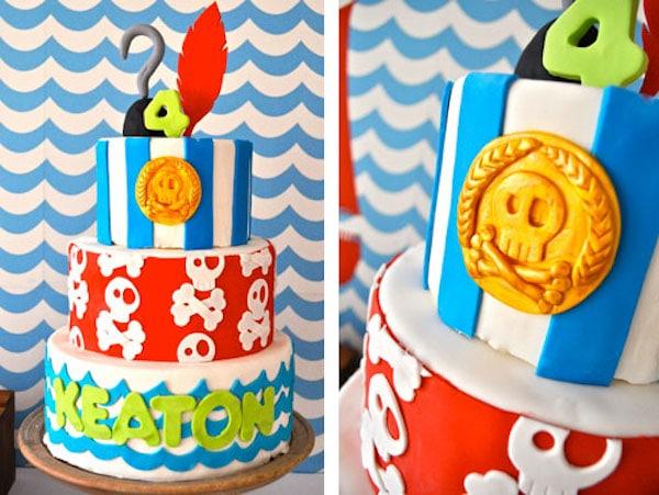 cumpleaños jake y los piratas 2