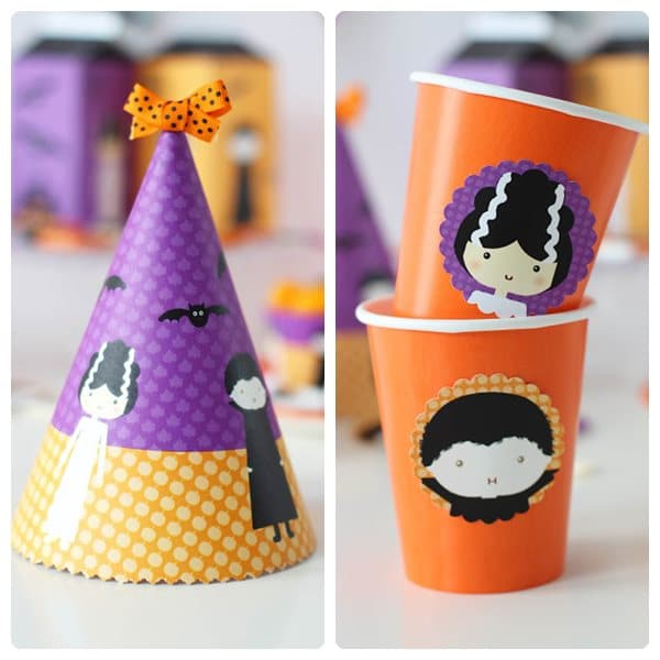 Decoraci n de una fiesta de halloween imprimibles - Ideas para fiesta halloween ...