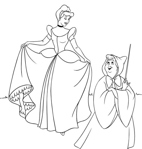 Dibujos Para Colorear De Las Princesas Disney Pequeocio Com