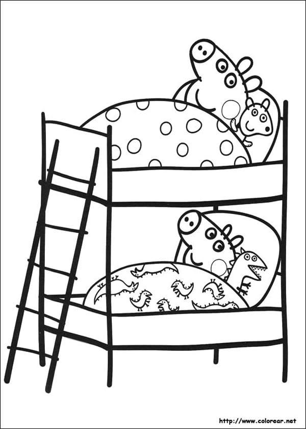 Dibujos para colorear de Peppa Pig  Pequeocio