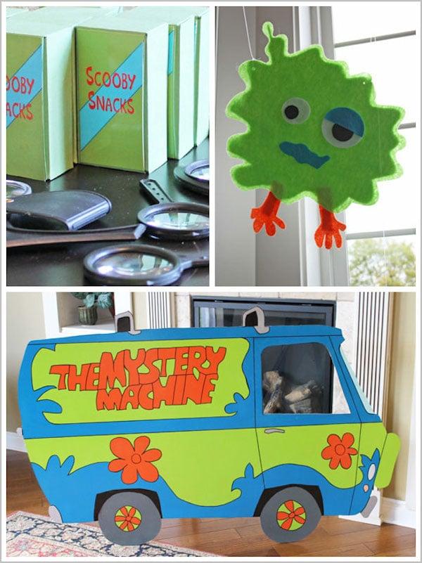 fiesta temática de Scooby Doo