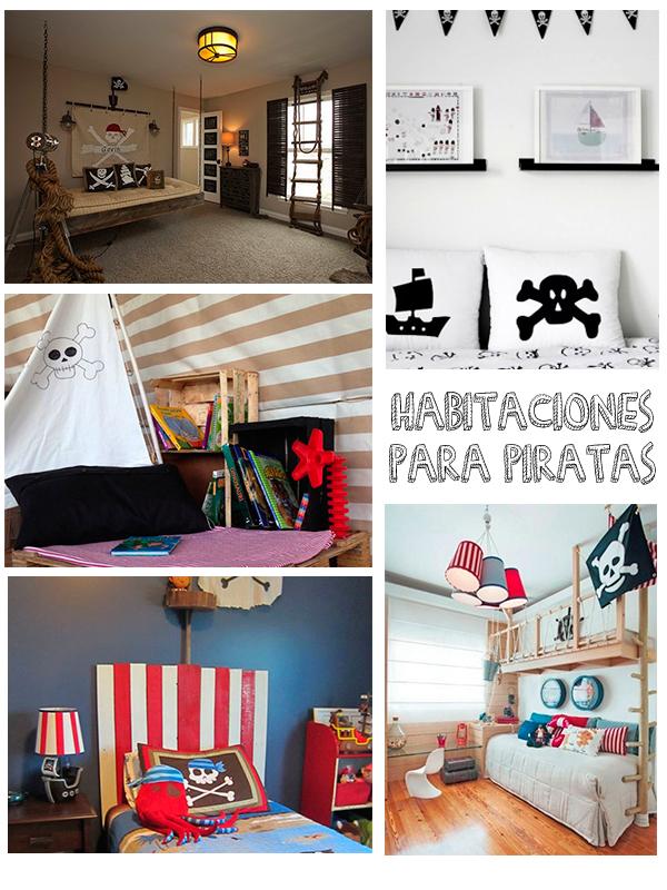 7 habitaciones infantiles para piratas pequeocio - Habitaciones decoradas para ninos ...