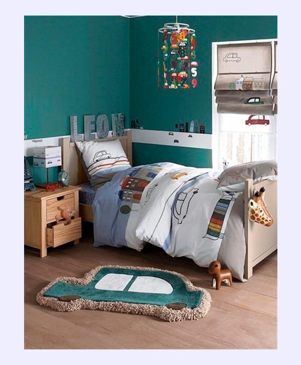 8 habitaciones infantiles para fan ticos de los coches - Ideas pintar habitacion infantil ...