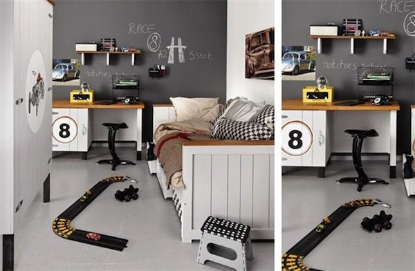 8 habitaciones infantiles para fan ticos de los coches - Dormitorios de cars ...