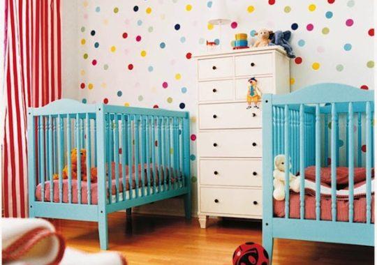 Cómo decorar la habitación de bebés gemelos 1