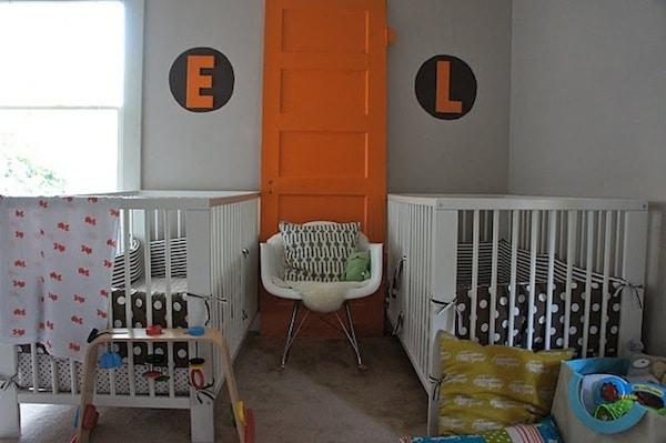 Cómo decorar la habitación de gemelos