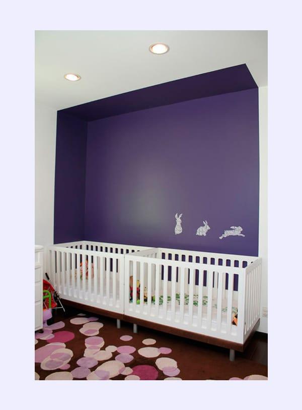 Cómo decorar la habitación de bebés gemelos   pequeocio