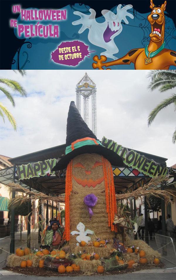 ¡Halloween 2013 en el Parque Warner!