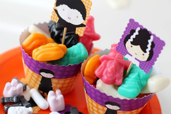 Fiesta infantil de Halloween: ¡imprimibles!