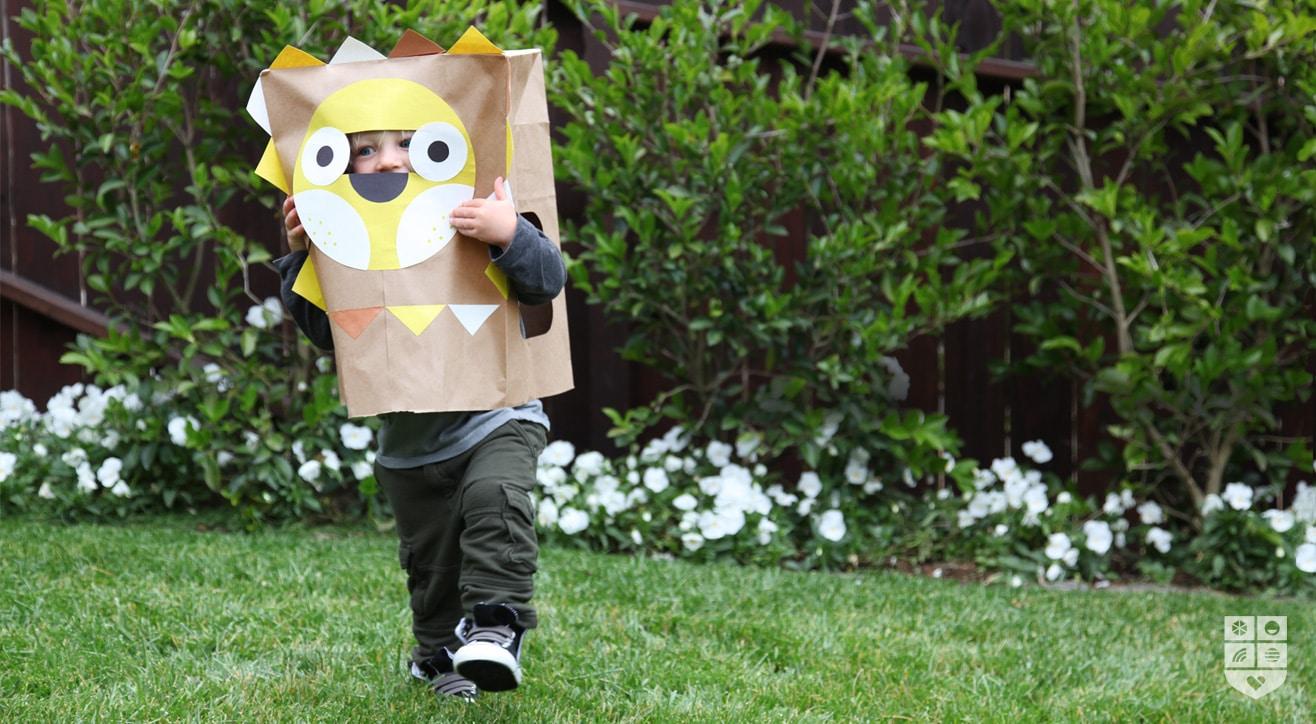 5 máscaras de cartón y papel para Halloween - Pequeocio