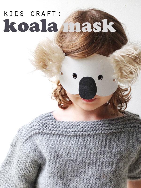 mascara koala
