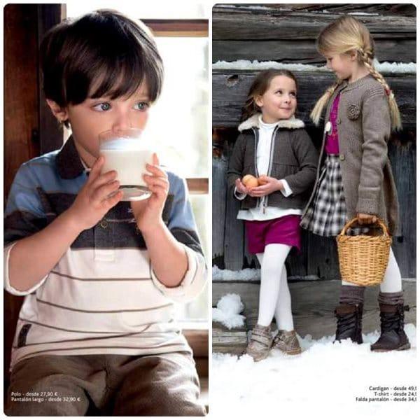 Cómo vestir a los niños para Navidad y Nochevieja
