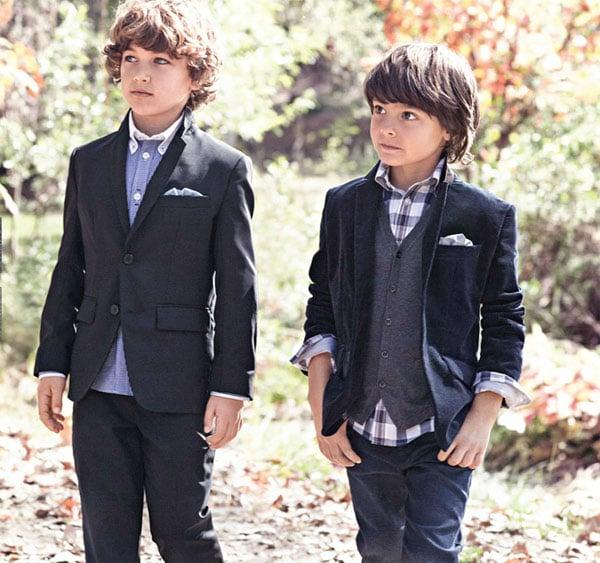 La moda infantil de Hugo Boss, invierno 2014