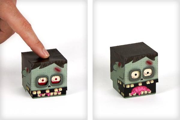 monstruo de papel imprimible