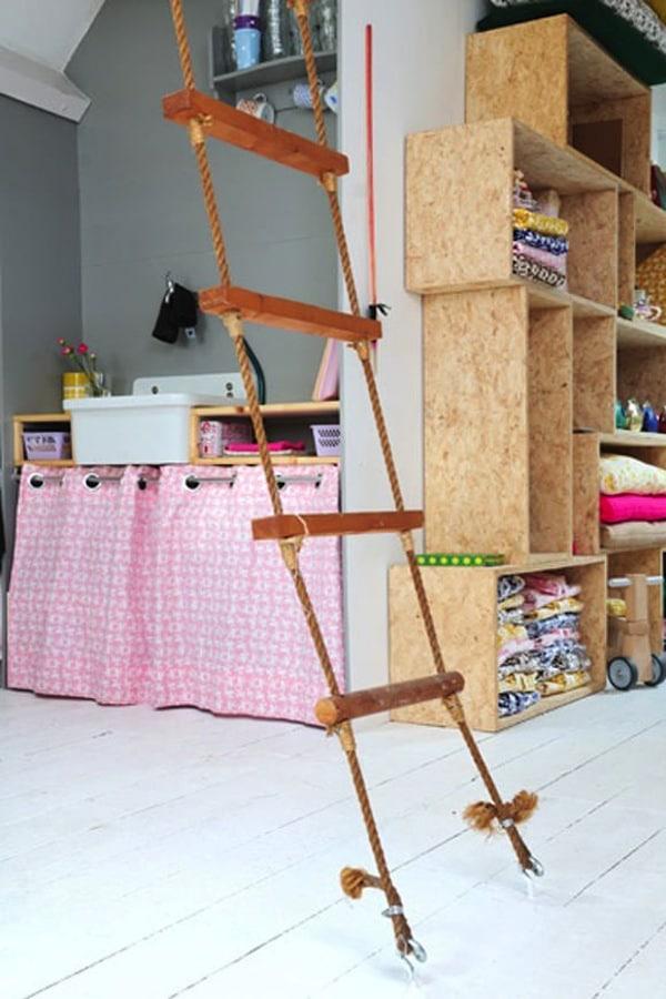 Ideas de decoraci n infantil columpios en la habitaci n - Escalera decoracion ikea ...