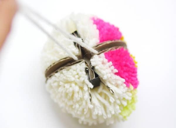 pompon flor 8