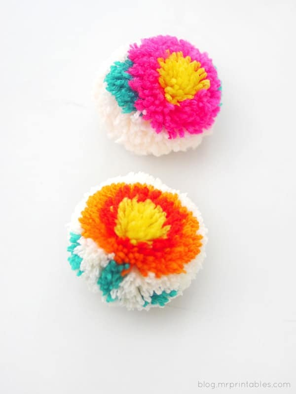 pompon flor 9